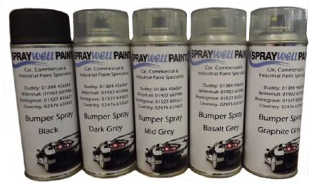 Bumper Spray Cans